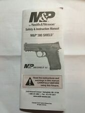 Owners Manual & Factory Box for S&W M&P .380 Shield EZ & 9mm EZ , Free Shipping