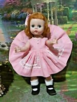 Vintage 1950s Madame Alexander Doll With Tagged Wendy-Kins Play Dress #408