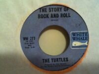 "THE  TURTLES        7""  VINYL   SINGLE,    THE STORY  OF  ROCK AND  ROLL"