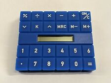 Blue Alessi Calculator (Italy, Alessandro Mendini, 2000)