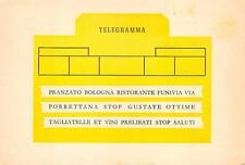 2542) BOLOGNA RISTORANTE ALLA FUNIVIA IN VIA PORRETTANA.