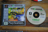 Jeu V-RALLY 97 sur Playstation 1 PS1 (one) REMIS A NEUF