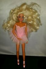 Vintage Barbie ballerina rare doll 1976 Mattel pink dress