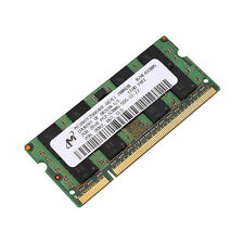 Micron 2GB DDR2 667Mhz PC2-5300 CL5 Laptop Sodimm SDRAM Memory Original Chips