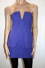 Shona Joy Brand Women's Violet Haze Buster Strapless Dress Size 10 BNWT #TC95