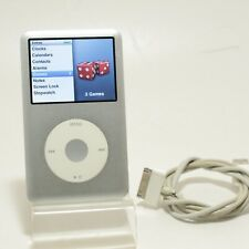 Apple iPod classic 6th Generation Silver (80 GB) Good Condition