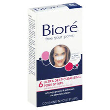 Biore 6 NOSE ULTRA DEEP CLEANSING PORE STRIPS Instantly Unclogs Pores Blacheads