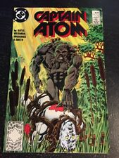 Captain Atom#17 Incredible Condition 9.0(1988) Swamp-Thing App!!