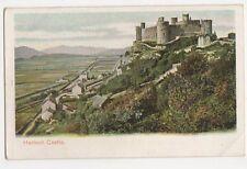 Harlech Castle, Peacock Autochrom Postcard, B317
