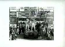 Miki Biasion Lancia Delta Integrale San Remo Rally 1989 Firmado fotografía 2