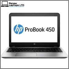 "HP ProBook 450 g4 15.6"" laptop i3-7100u 2.4Ghz, 8Gb RAM, 256Gb SSD, Windows 10"