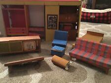 Vintage 1962 Barbie Dream House Furniture Lot