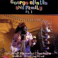 George Clinton and Family Pt.1 CD   NEU+OVP-SEALED  ESMCD 383