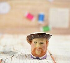 Finely Modelled Francesca China England Henry VIII Thimble