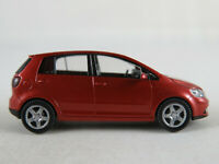 Wiking/VW 5M0 099 301 A3X VW Golf Plus (2004) in sunsetred metallic 1:87/H0