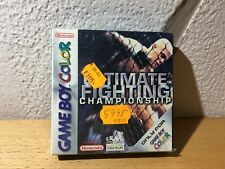 ULTIMATE FIGHTING CHAMPIONSHIP GAMEBOY COLOR GBA NUEVO