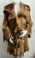 Hand Made Hide Coyote Fur Coat Western Jacket Women's 10
