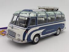"""Schuco 00347 # Setra S6 Reisebus Baujahr 1963 in """" blau-weiß """"  1:18  NEUHEIT !!"""