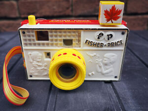 Fisher-Price Picture Story Camera, vintage 1960's, VGC