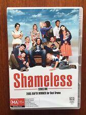Shameless : Series 1 (DVD, 2005, 2-Disc Set) *Disc's VGC *Region 4