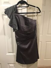 Phoebe Couture one-shoulder dress size 0