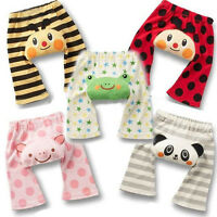 Baby Busha Toddler Pants Cute Animal Leggings Infant Boy Girl 6m - 4T Sleepwear