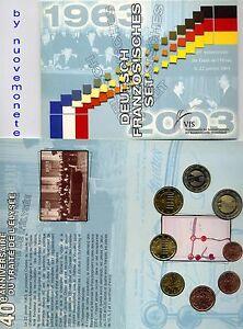 SET FRANCE - ALLEMAGNE 2003 8 val. BU  RARO solo 7.342