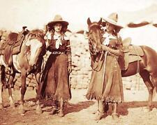 OLD WEST COWGIRLS VINTAGE PHOTO BUFFALO BILLS WILD WEST SHOW 1912  #21020