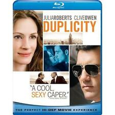 DUPLICITY **Brand New & Sealed** Blu-ray Julia Roberts Clive Owen FREE SHIPPING!