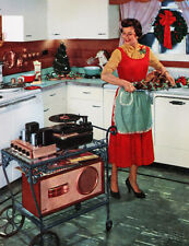 "1950's Portable Stereo 11 x 14""  Photo Print"