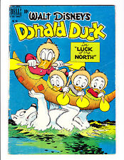 Four Color  256    Donald Duck  Luck of the North      Carl Barks Art