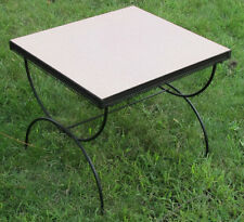 Fab 50's Retro Vintage Pink Formica Coffee End Table