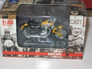 DUCATI SCRAMBLER 450 1970  NEWRAY 1/32th Road Motorcycle Model