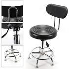 Adjustable Hydraulic Barber Chair Salon Spa Hair Styling Equipment Black/White