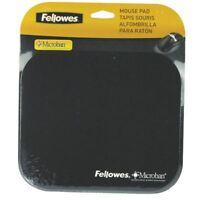 Fellowes Microban Black Mouse Mat 5933905 [BB48718]
