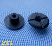 (2506/ 141D) 10x Kunststoffmutter Clips Befestigung Klips Halter  mutter Clip