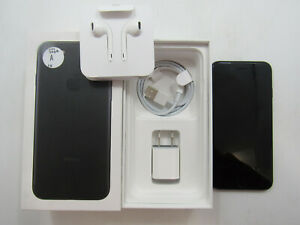 Open Box Apple iPhone 7 A1660 Black Unlocked 32GB Check IMEI -BT6955