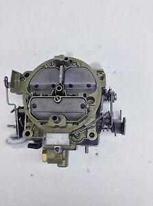 ROCHESTER QUADRAJET 7029207 1969 CHEVELLE CAMAOR CORVETTE 350 ENGINE 350HP S/T