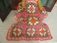 """Doll Afghan for 15-18"""" dolls, diorama, dollhouse"""