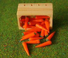 Kiste Karotten  Miniatur Futter Zubehör Breyer Traditional Pferd Modellpferd