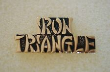 US USA Iron Triangle Vietnam Military Hat Lapel Pin