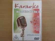Best of Italo Hits Vol. 2, Karaoke DVD mit Chören. Dalla, 883, Cotugno, Tozzi...