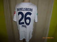 "SV Babelsberg 03 Original umbro Matchworn Trikot 10/11 ""EWP"" + Nr.26 Paul Gr.XL"