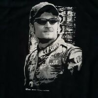 Chase Authentics 2005 Dale Earnhardt Jr Black & White T Shirt Sz 2XL NASCAR