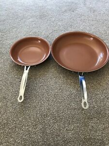 Set Of 2 Frying Pans 20cm And 28cm