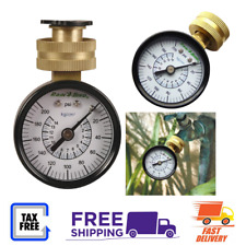 New listing Rain Bird Water Pressure Test Tester Gauge For Home Garden Irrigation System P2A