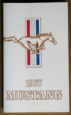 Ford Mustang Owners Manual 1967 67 repro Jim Osborn Reproductions handbook
