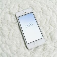 Apple iPhone 5 - 16GB - White & Silver (AT&T) A1428 (GSM) Good Used Condition