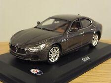 LEO MODELS MASERATI GHIBLI GREY METALLIC CAR MODEL HD06 1:43