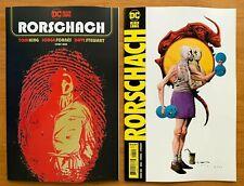 Rorschach 1 2020 Main Cover + Jae Lee Variant Set Tom King Dc Nm